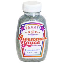 Load image into Gallery viewer, Awesome Sauce Glitter Lotion 9oz Rainbow