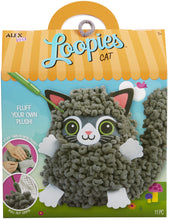 Load image into Gallery viewer, Loopies Yarn and Plush Cat