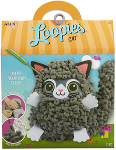 Loopies Yarn and Plush Cat