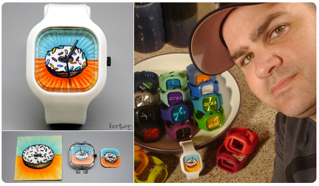 See?? We're not the only ones serious about custom watches!