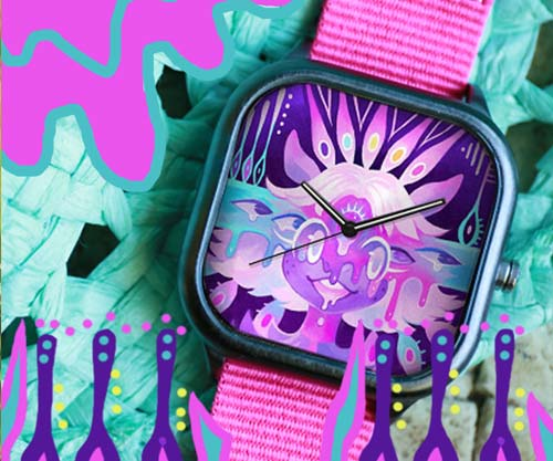 illustration watches