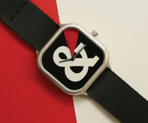 typography watches
