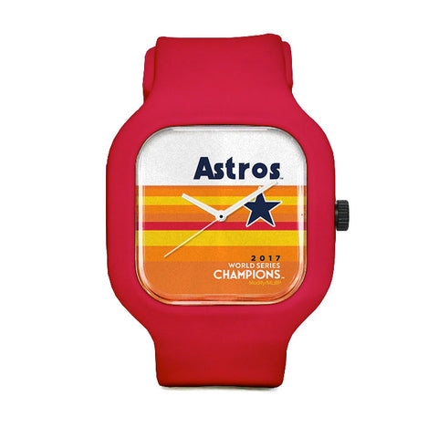 Astros World Champion Orange Sport Watch