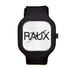 Raux White Sport Watch