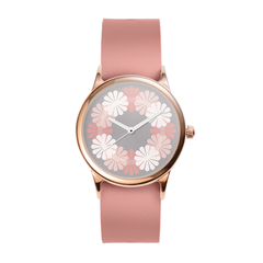 Rose Floral Ring Watch