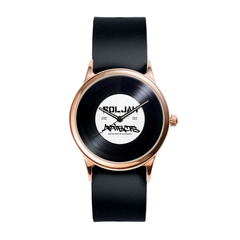 Record Collab Rose Watch