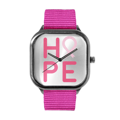 NBCF HOPE Pink Watch