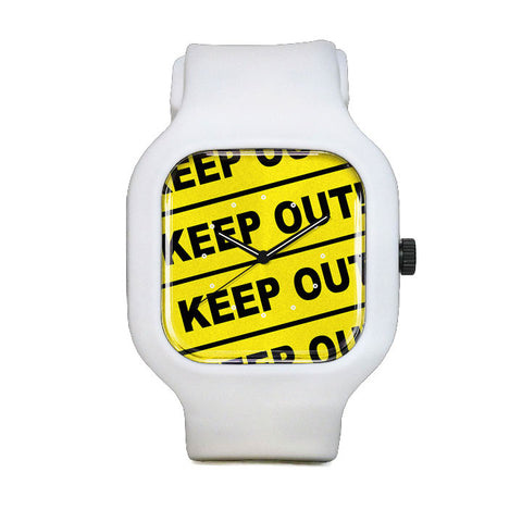 Keep Out Sport Watch