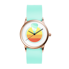 Seafoam Rose Sunset Watch