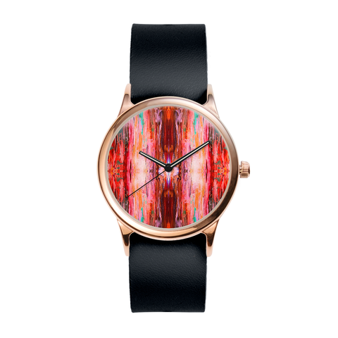 Abstract Rose 1 Watch
