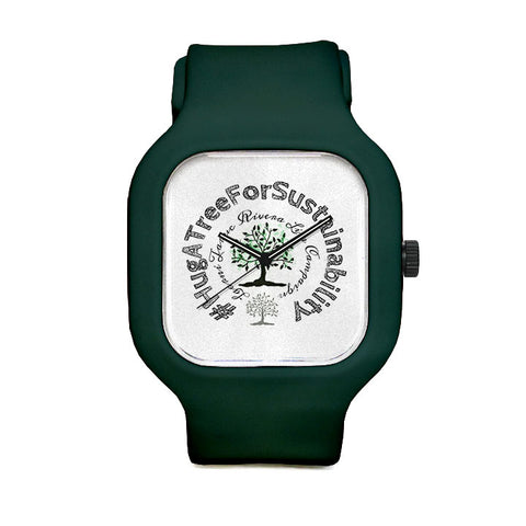 #HugATreeForSubstainability Sport Watch