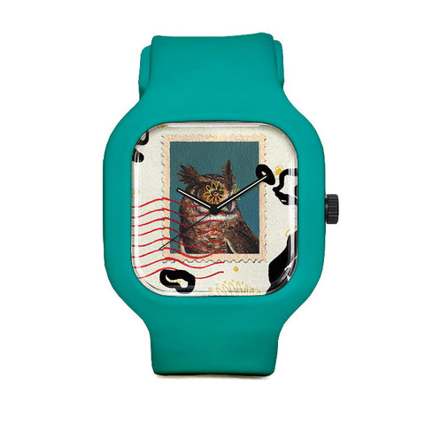 Owl Stamp Sport Watch