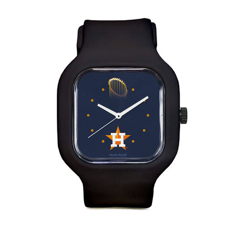 WS 2017 Astros Blue Sport Watch
