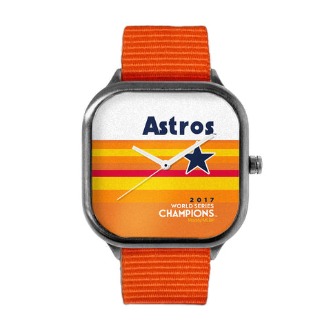 Astros World Champion Orange Watch