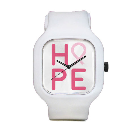 NBCF HOPE Pink Sport Watch