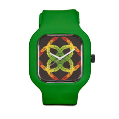 Color Leaves Sport Watch
