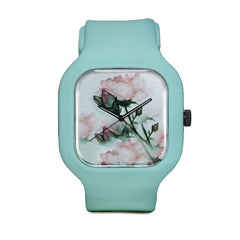 Sparkling Flowers Sport Watch
