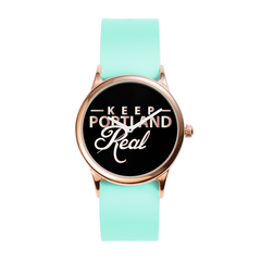 Vegan Seafoam City of Rose Watch