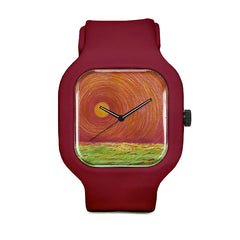 Sun Landscape Sport Watch