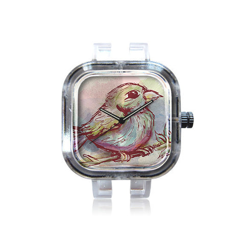 ChrisBrock WatercolorRobin watch