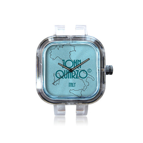 JohnQuarzo ItalianBrandLogo watch