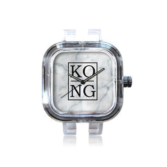 Kong SquareMarble watch