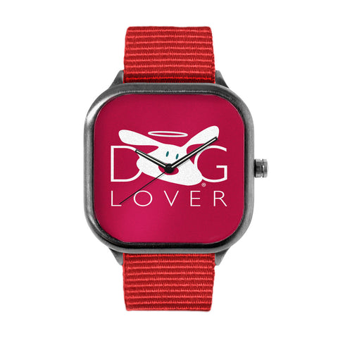 Dog Lover Red Watch