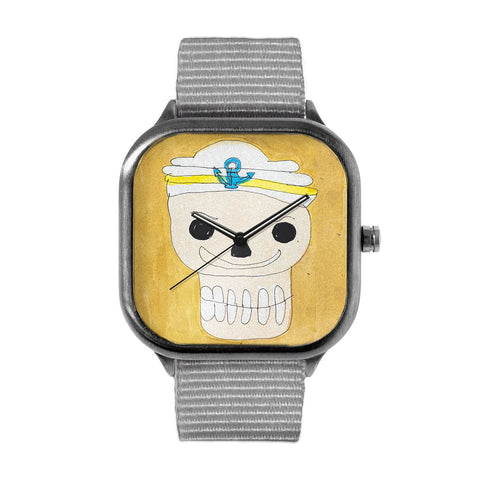 Sailor Skull by Gordon Chin Watch