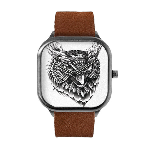 Ornate Owl Watch