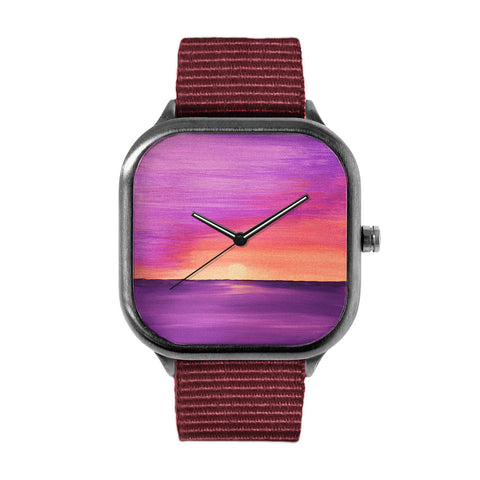 Purple Sunset Watch