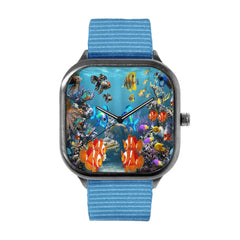 Aquarium Style Watch