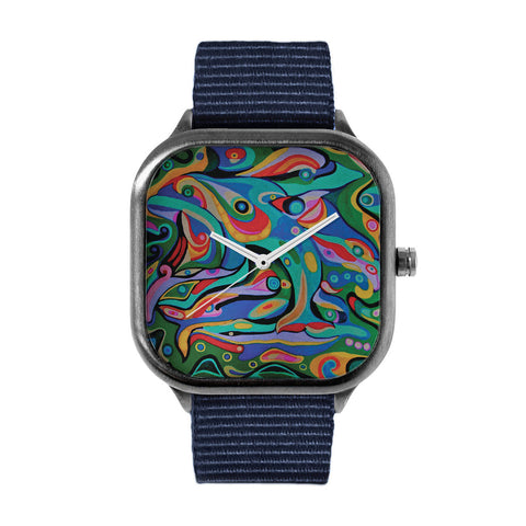 Dolphin Style Watch