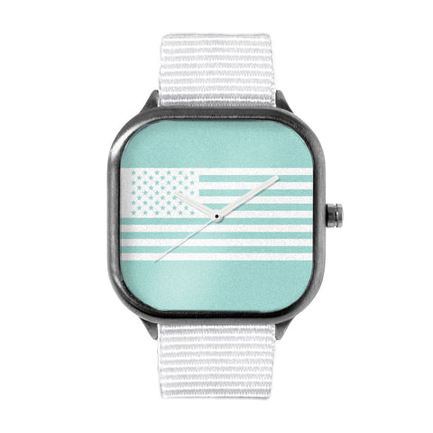 Seafoam Flag Watch