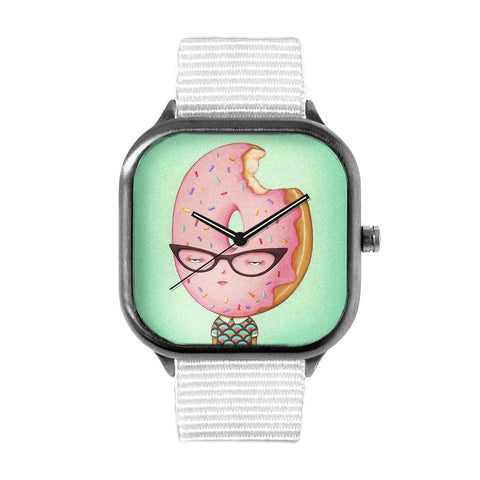 Glazed and Confused with Sprinkles Watch