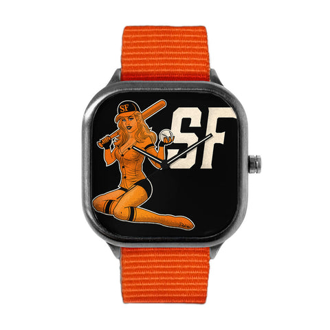 SF Baseball Pin-Up GIrl Watch