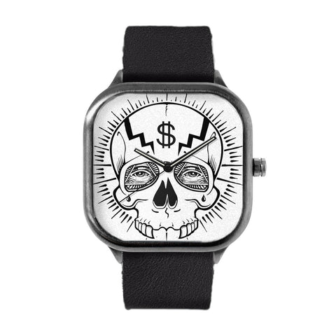 Dollar Skull Watch