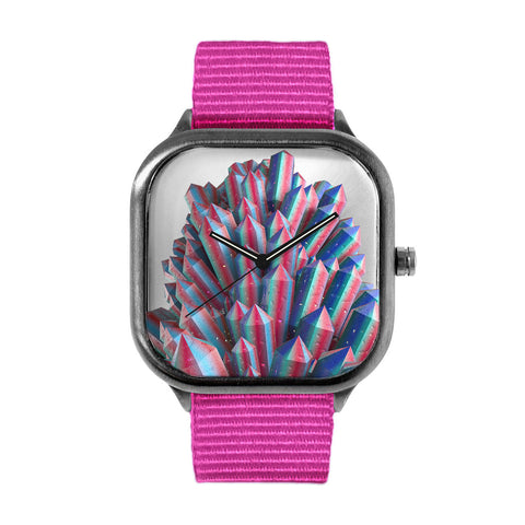 Colored Crystal Watch