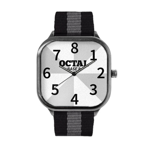Octal Clock Watch