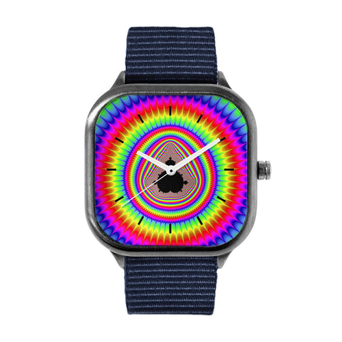 Rainbow Mandlebrot Watch