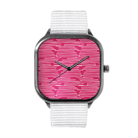 Grassy Pink Watch