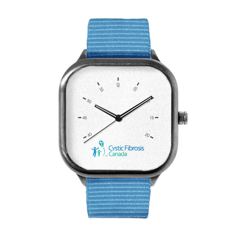 Cystic Fibrosis Canada White Watch