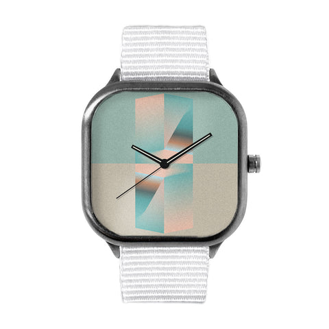 James Passos Glass Watch