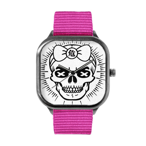 Girly Skull Watch