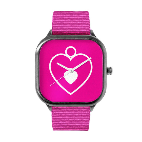 PinkHeart Watch