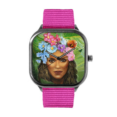 Flora Woman Alloy watch