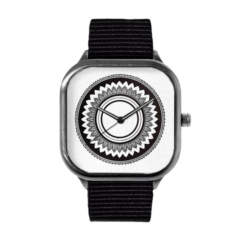 BW Mandala Watch