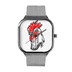 Cluck CLock Watch