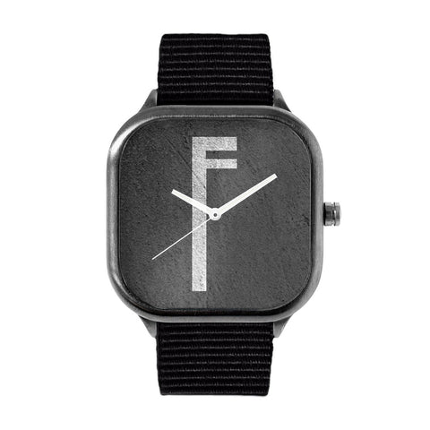 Monolithic Monogram F Watch