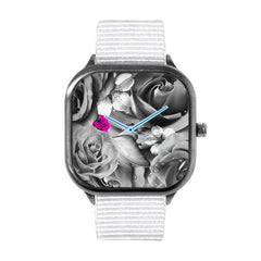 OVE Silver Flowers Watch