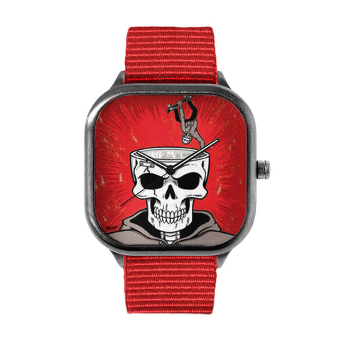 small skull Watch
